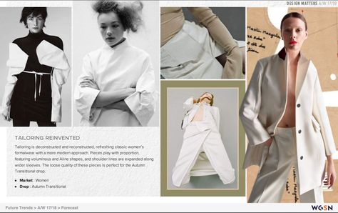 WGSN design matters A/W dsign tribe™