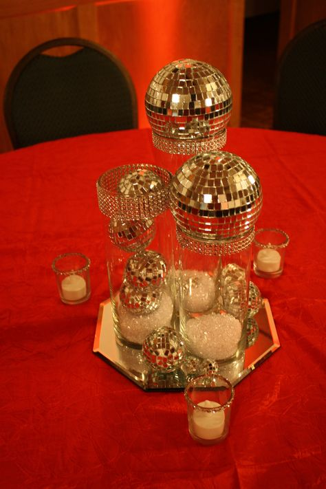 Hollywood theme centerpiece
