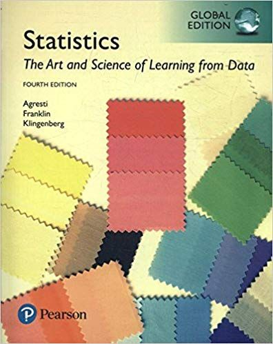 Statistics The Art And Science Of Learning From Data 4th Global