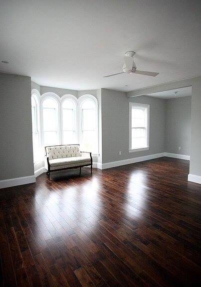 J. Weiser's favorite gray: Benjamin Moore Stonington Gray! There's a few others close to it if you like lighter or darker, but this was my favorite. It just looks like a true gray which I love, not too blue or green.