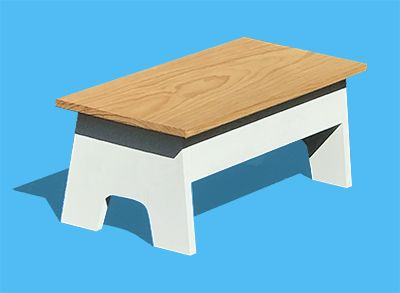 Learn To Make A Simple Step Stool At Community Woodshop In Los Angeles Step Stool Stool Wood Shop