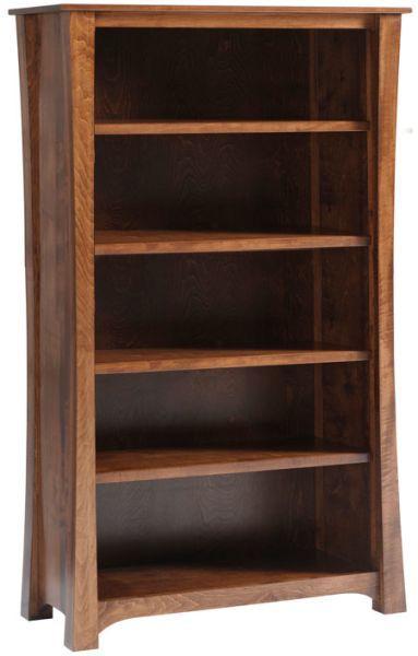 Knollwood 72 Bookcase Bookcase Amish Furniture Craftsman