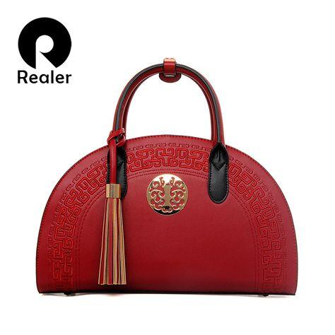 5d624eb10caf Купить Женская сумка в виде полукруга из тисненой кожи из новой коллекции 2016  года от торгового