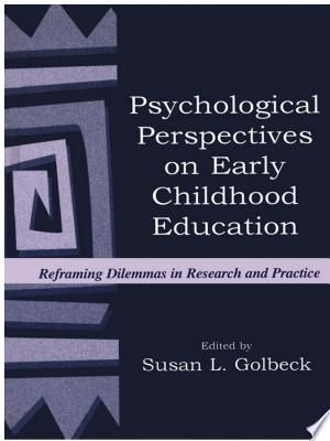 Psychological Perspectives On Early Childhood Education Pdf