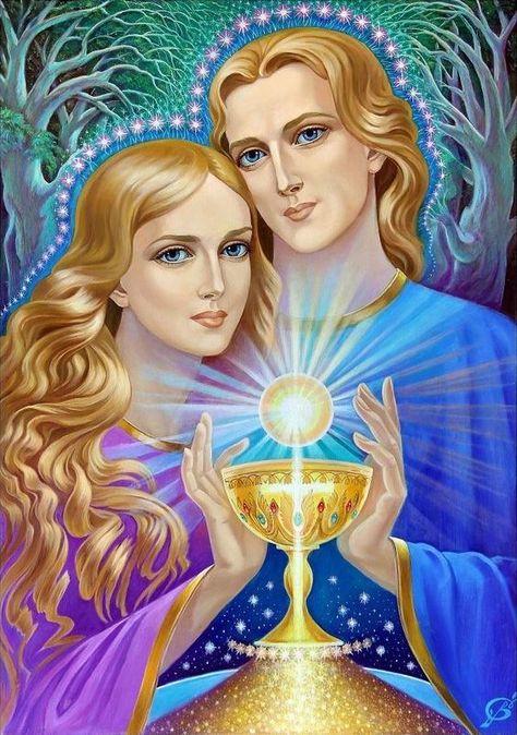@solitalo Amadas y divinas Luces del Padre/Madre Dios, en este encuentro que me llena de regocijo por la presencia entre ustedes de mi amada Señora Fe, les saludamos y entregamos el mensaje de refl…