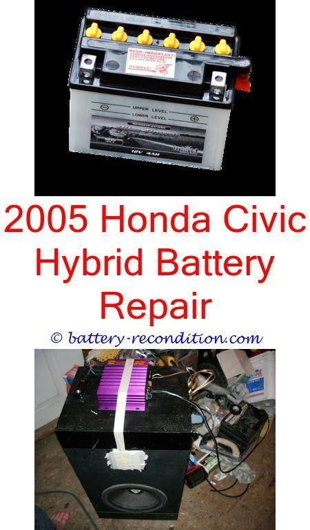 Hybrid Eco Friendly Car Battery Conditioning In 2020 Honda Civic Hybrid Hybrid Car Eco Friendly Cars