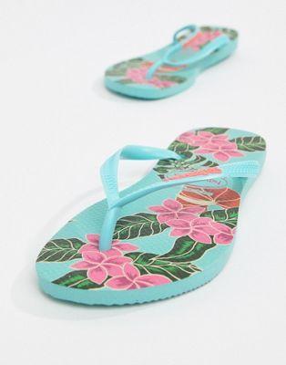Chanclas Finas Estampado HavaianasCotizas Con Floral De ZiPukOXT