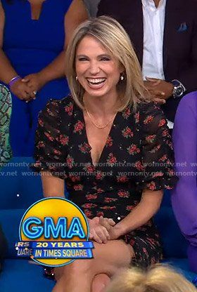 Good Morning America Outfits At Wornontv Net Amy Robach Good Morning America Hair Stylies
