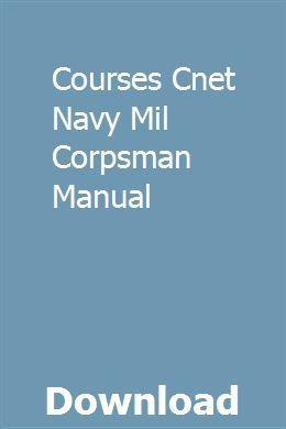 Courses Cnet Navy Mil Corpsman Manual Carburetor Air Compressor Manual