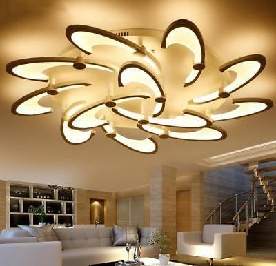 Romantic Modern Led Dandelion Ceiling Lamp Pendant Lighting Bedroom Living Room Ebay Ceiling Lights Pendant Lighting Bedroom Farmhouse Light Fixtures