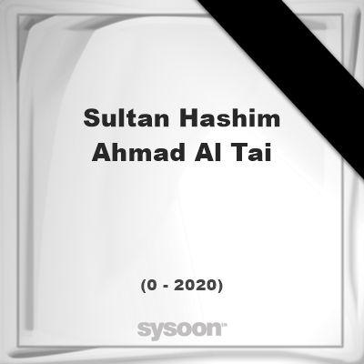 Sultan Hashim Ahmad al-Tai