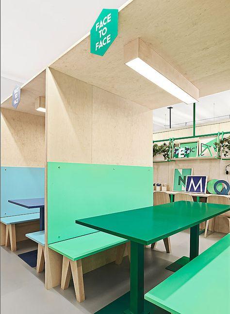 farbenfroher baukasten: kita von kadawittfeldarchitektur   nursery ... - Indoor Spielplatz Zuhause Design
