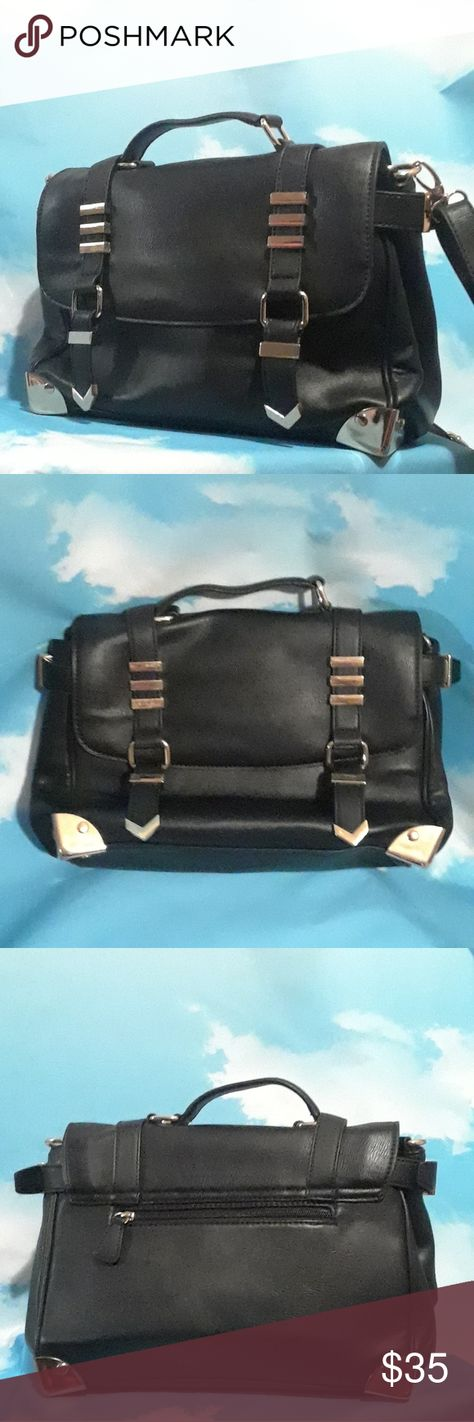 61e5e236b43 Aldo Satchel bag Faux Leather aldo semi structured satchel bag with handle  and removable