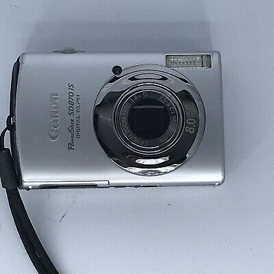 Canon Powershot Sd870 Is Digital Elph Camera Only Digital Camera Camera Powershot
