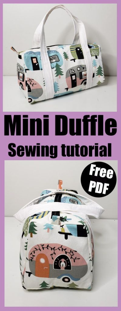 Duffle - Sew your own travel bag. This free sewing pattern is perfect beginner project. Xanadu Traveler PDF Sewing Bag Pattern Includes 2 Sizes and 2 Options Diy Sewing Projects, Sewing Projects For Beginners, Sewing Hacks, Sewing Tutorials, Sewing Crafts, Sewing Tips, Sewing Ideas, Crafts To Sew, Fabric Crafts