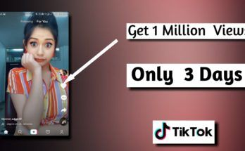 How To Get 1 Million Views In Only 3 Days On Tik Tok How To Be Famous Likes App Free Followers