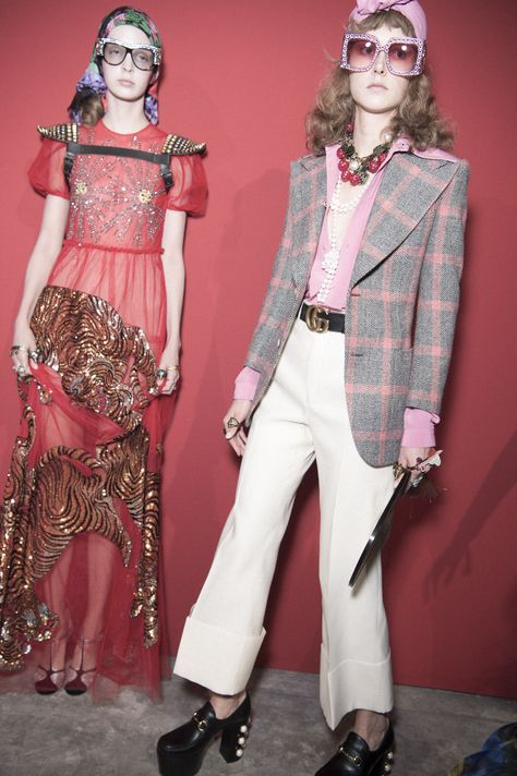 Inside Alessandro Michele's Wildly Colorful Spring Show for Gucci