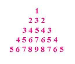 C Program To Pyramid Number Pattern Number Patterns Pattern