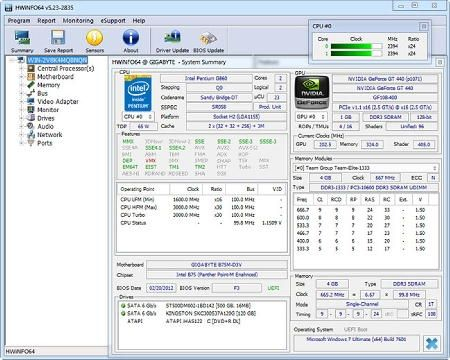 Hwinfo 6 23 Build 4110 Beta Portable Em Baixar Software
