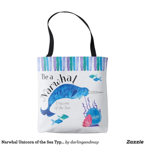 Lovely tote bag which you can personalize with your own name. Gorgeous  colors 5ca31308e315b