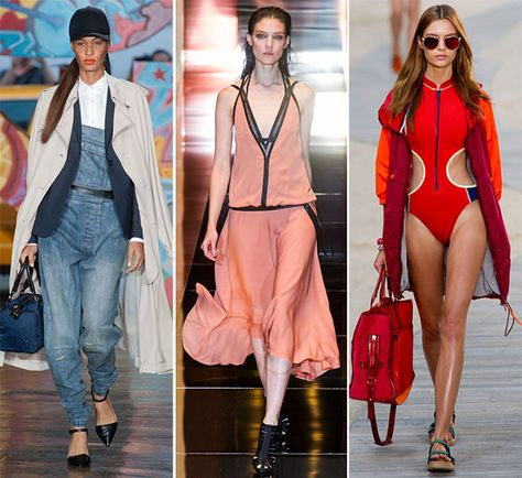 Spring/ Summer 2014 Fashion Trends: Sporty Clothes  #fashion #fashiontrends