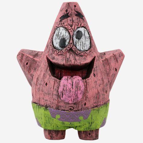 Patrick Spongebob Squarepants Eekeez Figurine