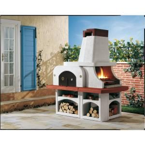 Latoscana Palazzetti Parenzo Charcoal Or Wood Fire Pizza Oven Parenzo Pizza Oven Pizza Oven Outdoor Kitchen Outdoor Cooking Grills