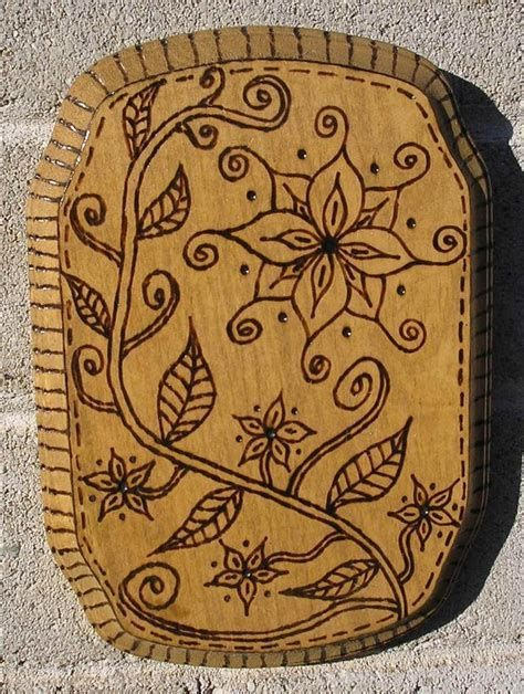 Image Result For Simple Woodburning Patterns Wood Burning