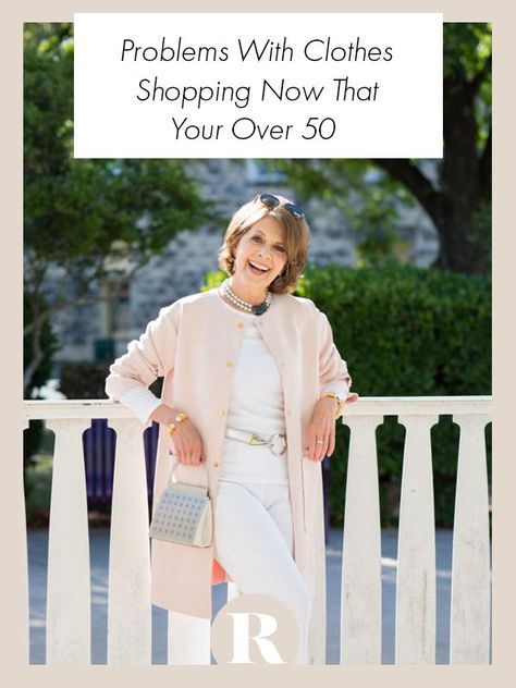 Clothes shopping for women over 50 is not easy but you aren't alone.