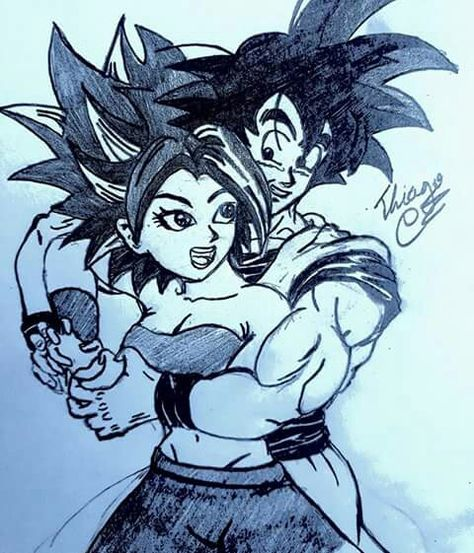 Cute kale and cabba drawings db super hookup bros