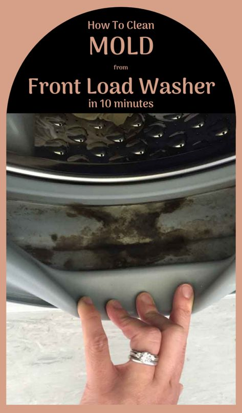 How To Clean Mold From A Front Load Washer In 10 Minutes | xCleaning.net - Your Cleaning Tips