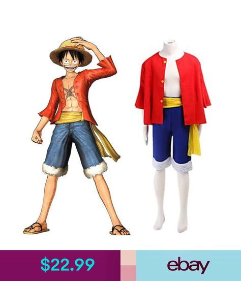 Costumes One Piece Monkey D Luffy World Costume Outfits For
