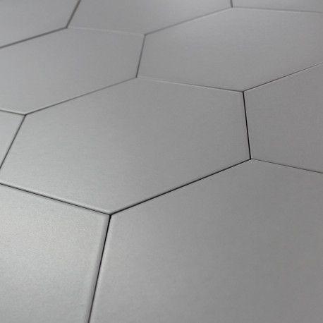 Carrelage Hexagonal Argent Basique Sol Et Mur Parquet Carrelage