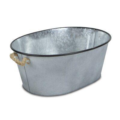 95ec7e731d227a0b25667dff7e601f33 - Better Homes And Gardens Galvanized Steel Oval Tub