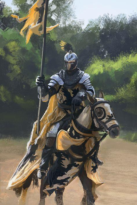 ArtStation - Knight study 02, Luis De La Cerda