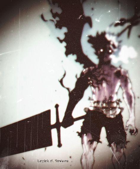 Asta Demon Black Clover Wallpaper Iphone Evil Anime Black