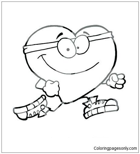 Heart Healthy Shopkins Coloring Page Free Coloring Pages Online Heart Coloring Pages Shopkins Colouring Pages Coloring Pages