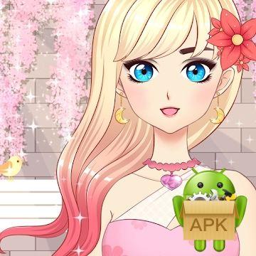 Telecharger Anime Girls Fashion Makeup Dress Up Apk 1 0 1 Non Classe Apkdownload Telechargerapk Anime Jeux