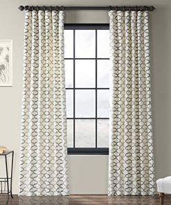Farmhouse Drapes Rustic Drapes Panel Curtains Cotton Curtains