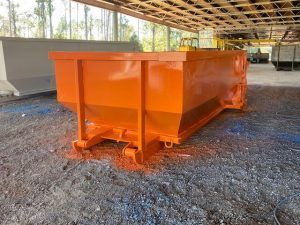 Double Door 15 Yard Roll Off Construction Dumpster For Sale Cedar Manufacturing In 2020 Double Doors Dumpster Utility Trailer