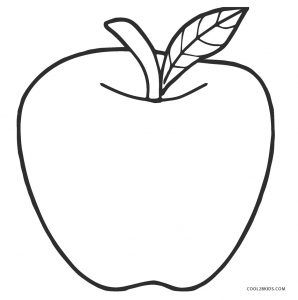 Apple Coloring Pages Apple Coloring Pages Apple Coloring Fruit