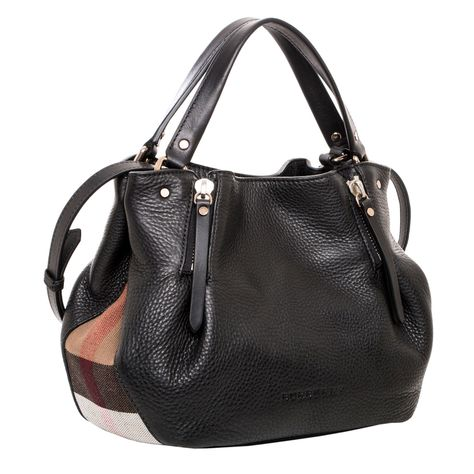 Details about Burberry Women s Small Brit   Canvas Maidstone Tote ... a1bc4fec39ba3