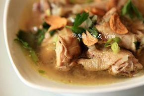 Resep Sup Ayam Kampung Resep Masakan Sup Ayam Resep Sup