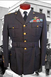 Regia Aeronautica (Italian Air Force) Service Dress uniform of General Pomarici