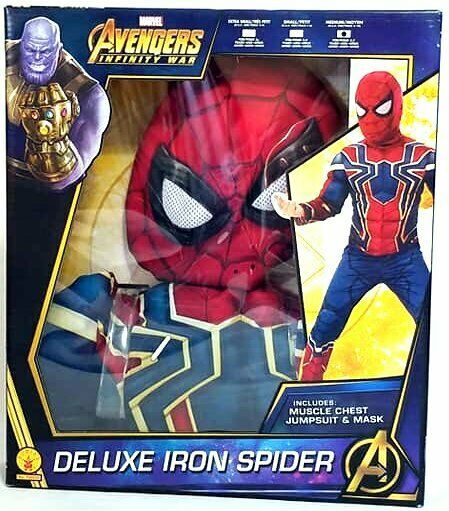 Rubie S Marvel Avengers Infinity War Iron Spider Child Costume 5