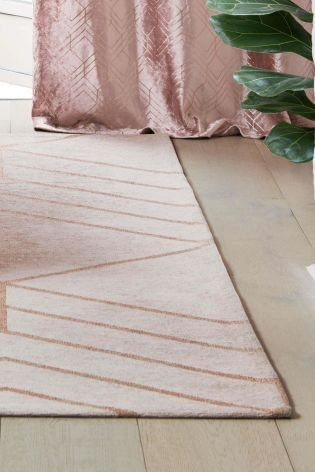 Geo Flat Weave Rug Instantly Transforms