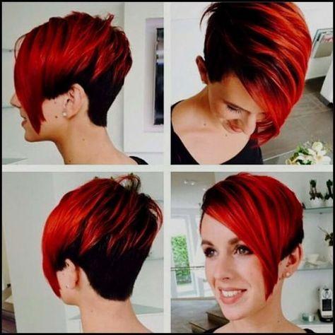 5 Faszinierende Kurze Rote Frisuren In 2020 Frisur Rot Rote Haare Neue Frisuren