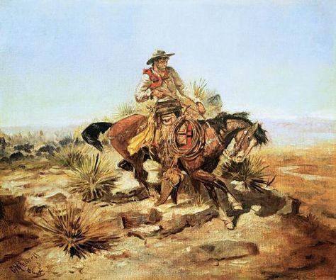 Resultado de imagen de postales de un cowboy