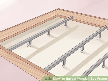 How To Build A Wooden Bed Frame Image Titled Build A Wooden Bed