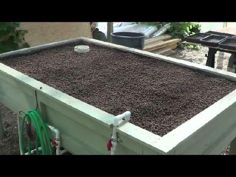 Aquaponic Conversion Part 8 Grow Bed Build In Detail Aquaponics